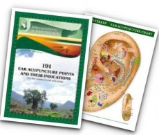 Ear Acupuncture Handbook& Ear Chart (VAT NOT included)